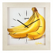 Настенные часы (34х34 см) Lowell 05454