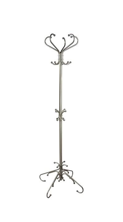 Вешалка напольная Мебелик Вешалка-стойка М-5 металлик вешалка напольная мебелик вешалка стойка м 1 черный
