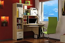 Стол компьютерный Бэйсик 280.090 Скул
