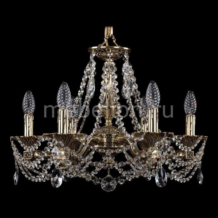 Подвесная люстра Bohemia Ivele Crystal 1710/6/160/C/GB 1710
