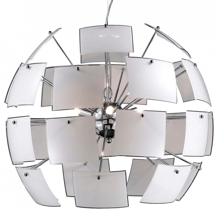 Подвесной светильник Odeon Light Vorm 2655/6 odeon light 2655 6 odl14 370 хром белый люстра g9 6 40w 220v vorm