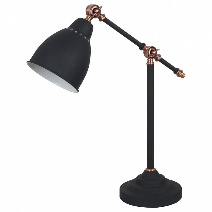 Настольная лампа офисная Arte Lamp Braccio A2054LT-1BK бра arte lamp braccio a2054ap 1bk