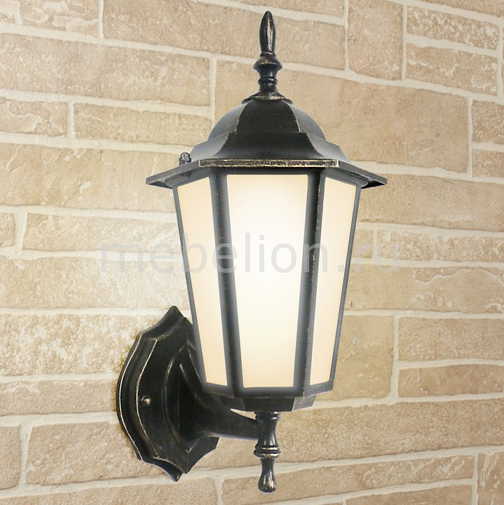 Светильник на штанге Elektrostandard GL 1004U черное золото elektrostandard светильник уличный настенный elektrostandard gl 1004u черное золото 4690389085741