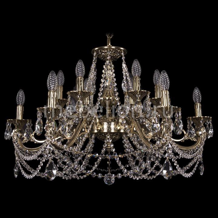 Подвесная люстра Bohemia Ivele Crystal 1703/12/320/C/GB 1703