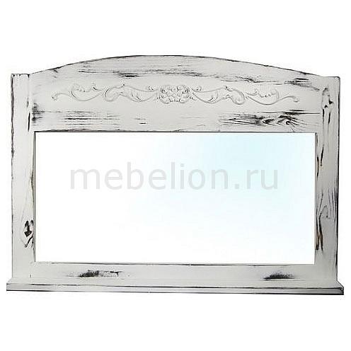 Зеркало настенное (85х60 см) С полкой Z25