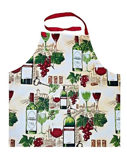 Фартук Bon Appetit Wine скатерть bon appetit rokoko цвет зеленый 145 см x220 см