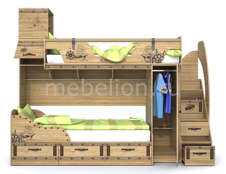 Кровать двухъярусная Сканд-Мебель Корсар