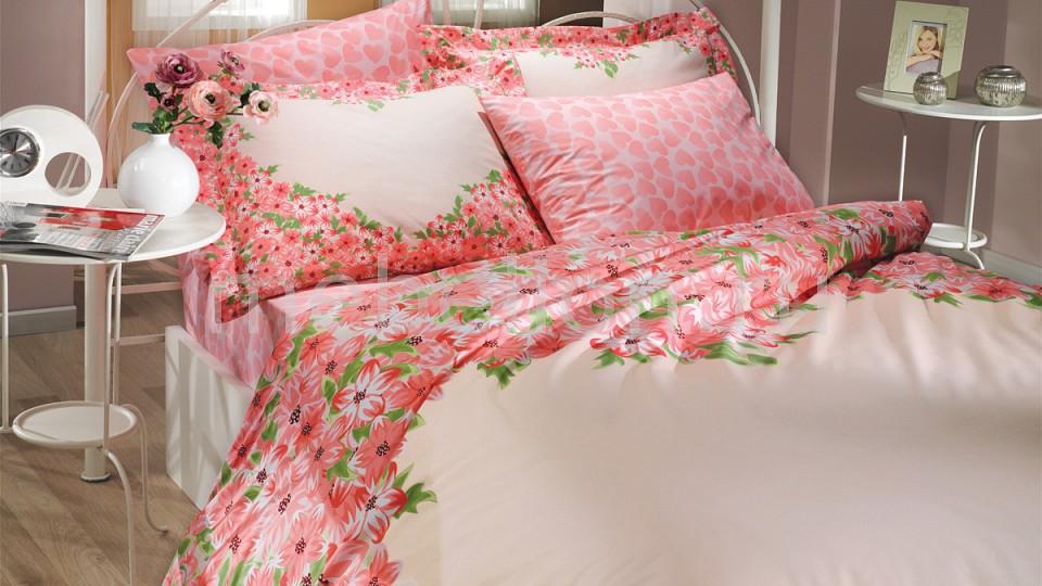 Комплект евростандарт HOBBY Home Collection ESPERANZA gangxun розовый красный l