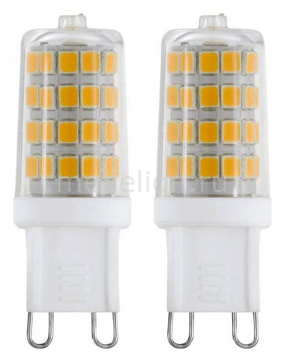 Комплект из 2 ламп светодиодных Eglo G9 3Вт 220В 4000K 11675 eglo бра eglo marbella 85859 lk5yf k g