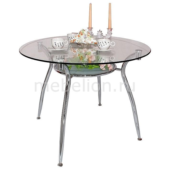 Стол обеденный А001 хром mebelion.ru 5866.000
