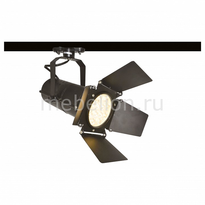 Светильник на штанге Arte Lamp Track Lights A6312PL-1BK Track Lights A6312PL-1BK tiffany mediterranean style peacock natural shell ceiling lights lustres night light led lamp floor bar home lighting