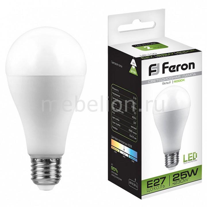 Лампа светодиодная Feron LB-100 E27 220В 25Вт 4000K 25791 лампа светодиодная [поставляется по 10 штук] feron лампа светодиодная lb 100 e27 25вт 220в 4000 к 25791 [поставляется по 10 штук]
