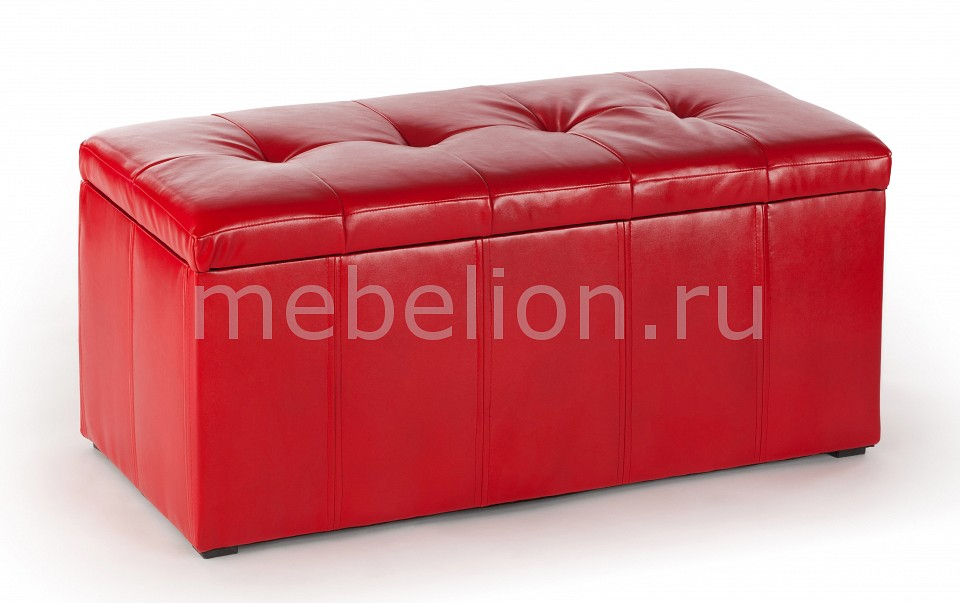 Банкетка Вентал ПФ-3 красная