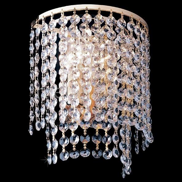 Накладной светильник Eurosvet 3122/2 золото Strotskis 3122