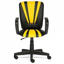Кресло компьютерное Spectrum черный/желтый