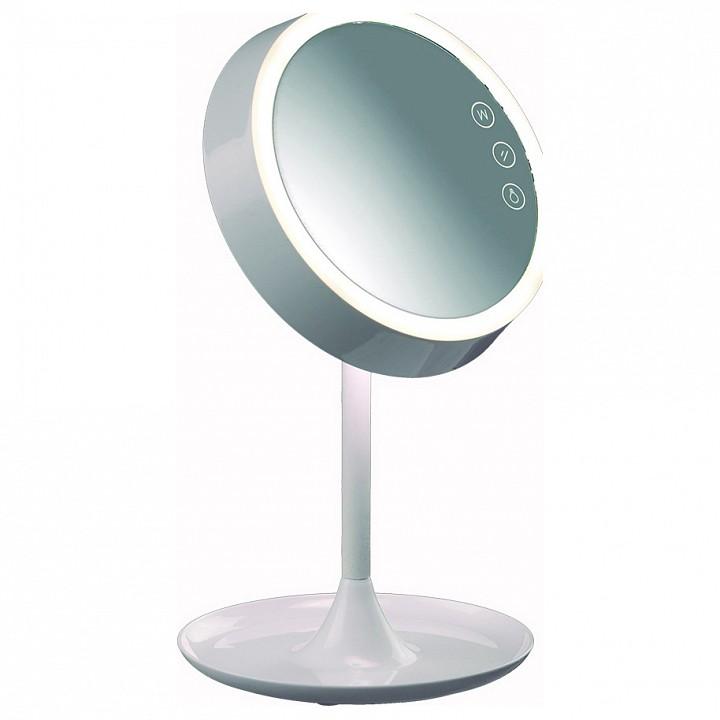 Зеркало настольное с подсветкой Mantra Kos 5848 настольная лампа офисная mantra kos 5848