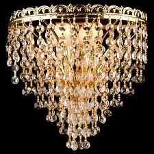 Накладной светильник Eurosvet 3402/2 золото Strotskis 3402