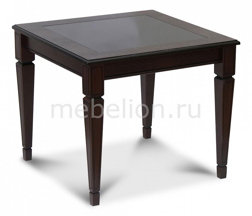 Стол журнальный Мебелик Васко В 82С шатура стол журнальный васко в 80 темно коричневый патина