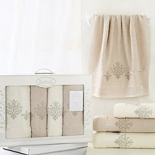 Набор полотенец для ванной Karna Набор из 4 полотенец для ванной VICTORY
