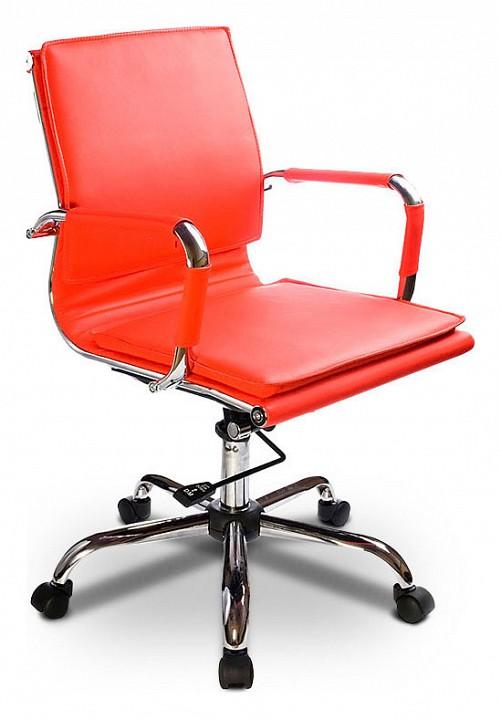 Кресло компьютерное Бюрократ Бюрократ CH-993-low красное кресло компьютерное бюрократ бюрократ ch 993 low золото