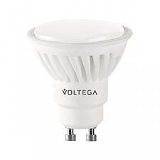 Лампа светодиодная Voltega GU10 220В 7Вт 2800K VG1-S2GU10warm7W