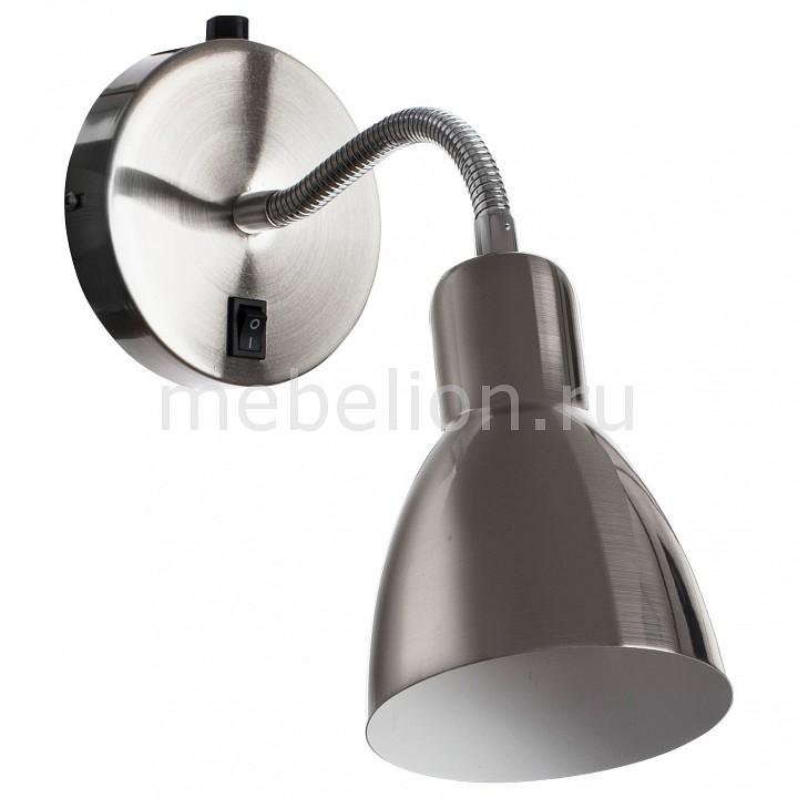 Бра Dorm A1408AP-1SS, Arte Lamp, Италия  - Купить