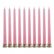 Набор из 10 свечей декоративных 348-375