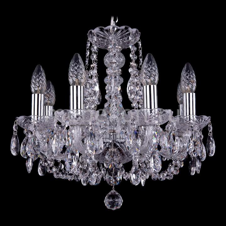 Подвесная люстра Bohemia Ivele Crystal 1406/8/141/Ni 1406