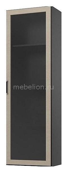 Шкаф-витрина Пассаж СБ-824 дуб феррара/дуб кремона