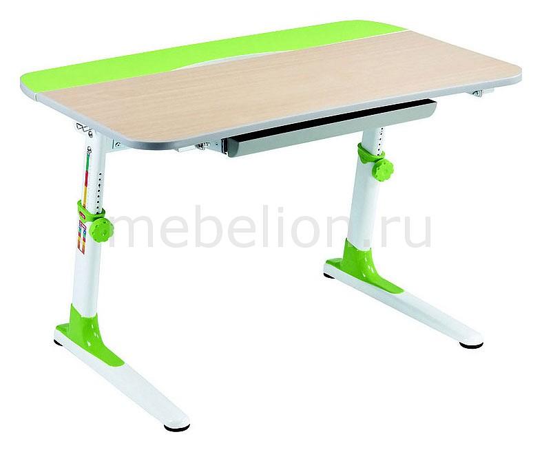 Парта Бюрократ Conductor-08 пеочный/зеленый mebelion.ru 10778.000
