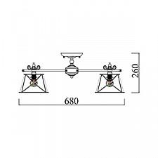 Потолочная люстра Maytoni ARM620-05-W Itella