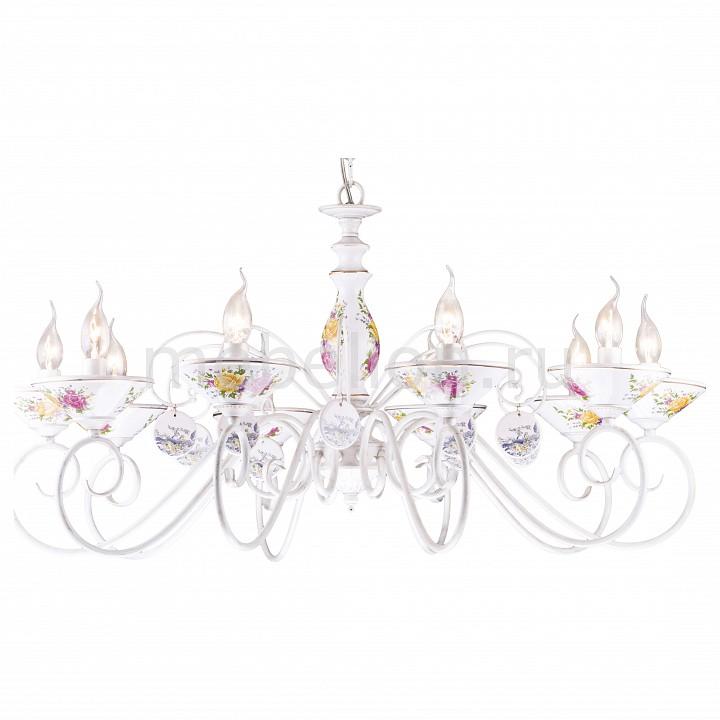 Подвесная люстра Arte Lamp A2061LM-10WG Fiorato