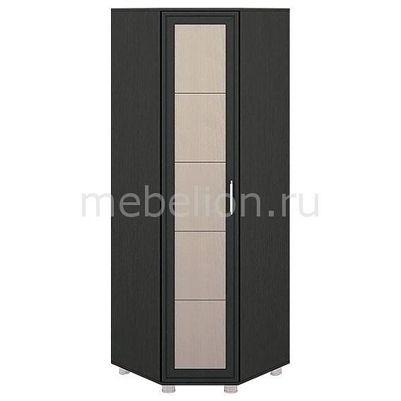 Шкаф платяной угловой Грета ПМ-119.16 дуб беловежский/штрихлак/венге