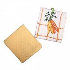 Набор из 2 полотенец для кухни Фрукты,овощи 0101310055