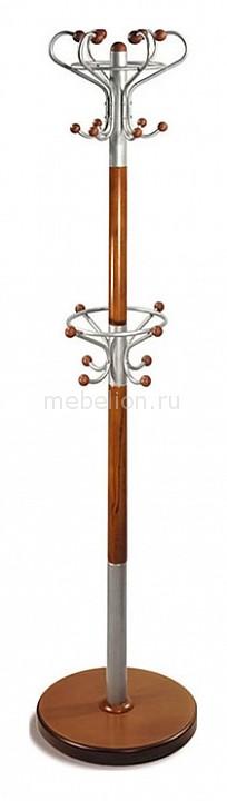 Вешалка для одежды напольная Декарт Д-5 средне-коричневый mebelion.ru 4270.000