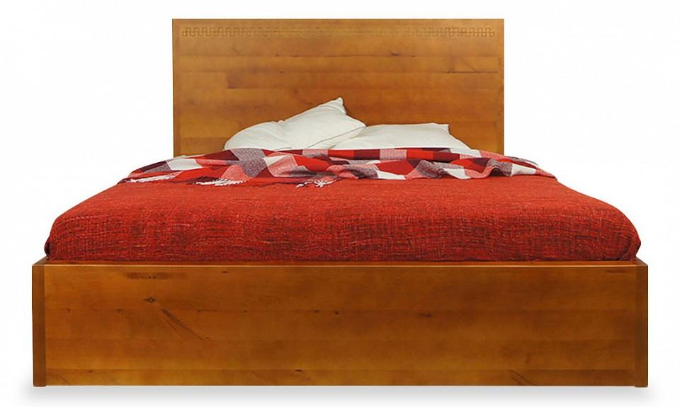 Кровать двуспальная Этажерка Gouache Birch
