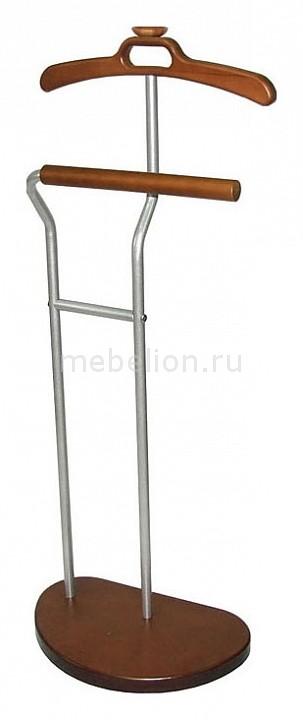 Вешалка для костюма Декарт Д-10 металлик/средне-коричневый