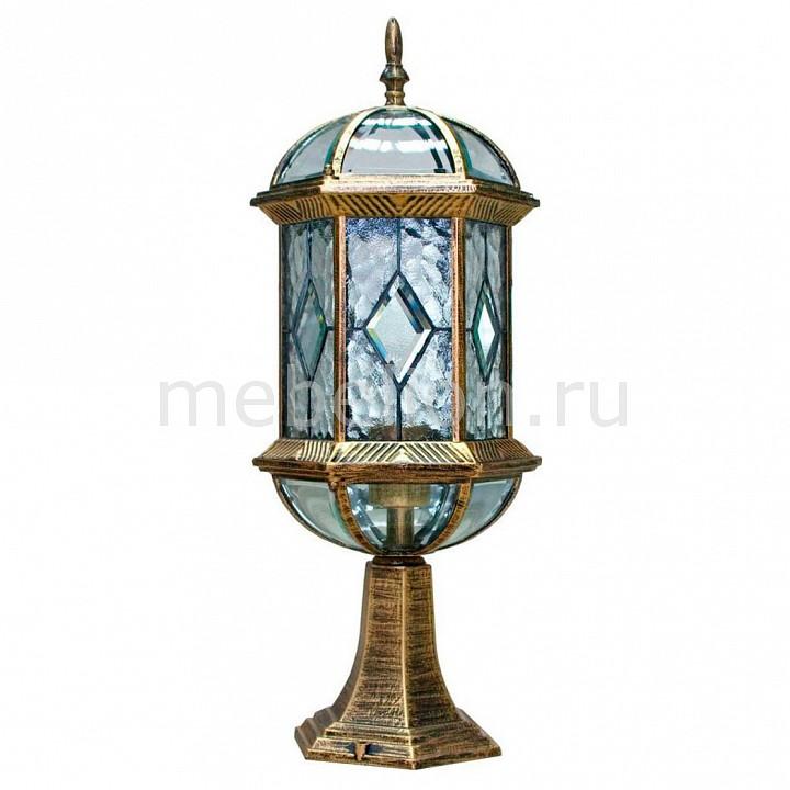 Наземный низкий светильник Витраж с ромбом 11339