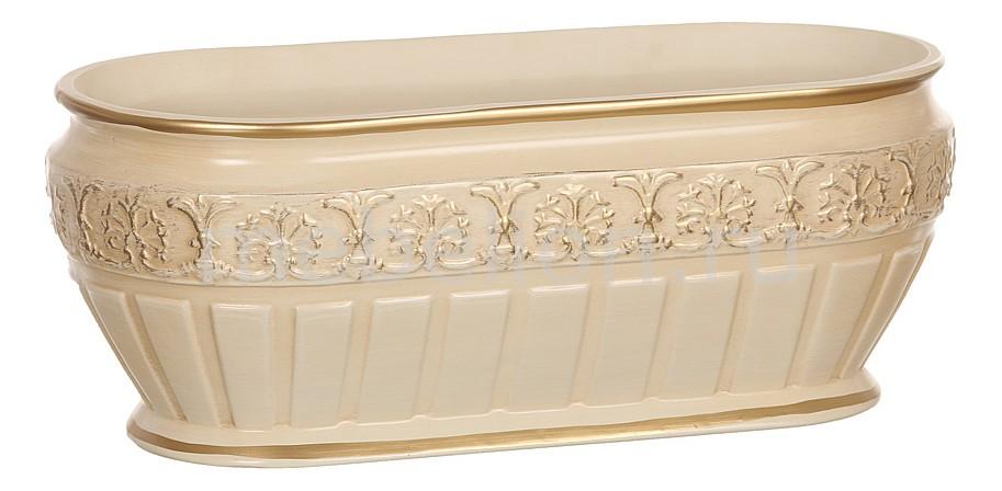 Купить Чаша декоративная (34х17х14 см) Кретенс 742-185, АРТИ-М, Россия, персиковый, глина белая