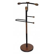 Вешалка для костюма Мебелик Галант 332 черный/средне-коричневый