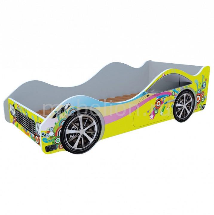 Кровать-машина Кровати-машины Радуга M042
