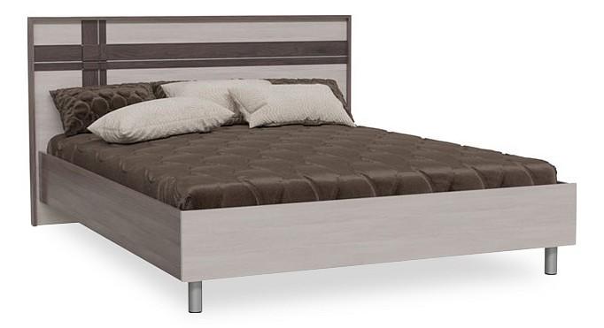 Кровать двуспальная Гранд-Кволити Презент 4-1819 кровать гранд кволити презент 4 1819 бодега темный светлый 160 см