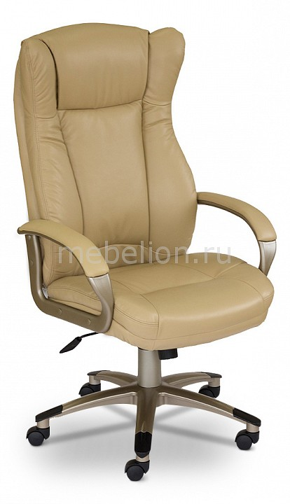 Кресло компьютерное CH-879Y бежевое mebelion.ru 6750.000