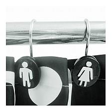 Штора для ванной Woman Man AR_F0010516_1