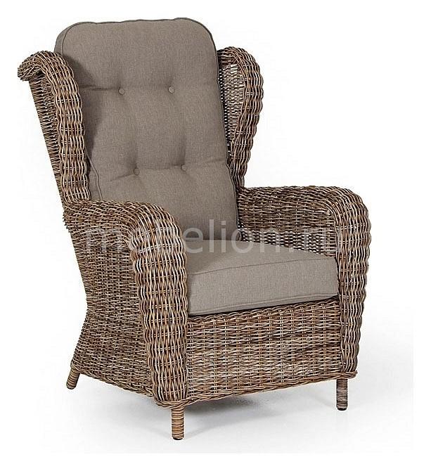 Кресло Brafab Catherine 5531-62-23 коричневое бленда jjc ls 62 пластиковая 62 мм