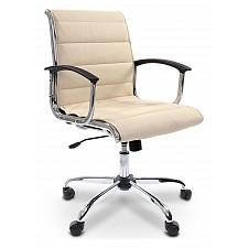 Кресло компьютерное Chairman 760 М бежевый/хром, черный