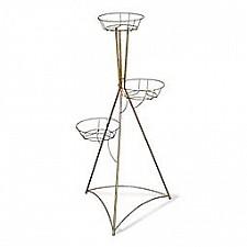 Подставка для цветов Sheffilton (106 см) Колонна трехгоршковая 827962