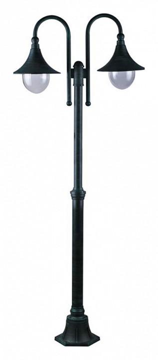 Фонарный столб Malaga A1086PA-2BG Arte Lamp Артикул - AR_A1086PA-2BG, Бренд - Arte Lamp (Италия), Серия - Malaga, Ширина, мм - 250, Высота, мм - 2300, Выступ, мм - 760, Диаметр, мм - 250, Размер упаковки, мм - 1020x345x365, Тип крышек, ручек, элементов - E27, Размер упаковки, мм - 1020x345x365