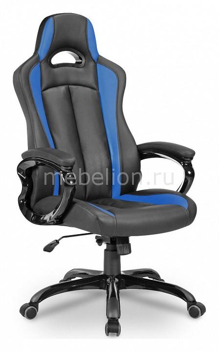 Кресло игровое Бюрократ CH-827/BL+BLUE ch 827 bl blue