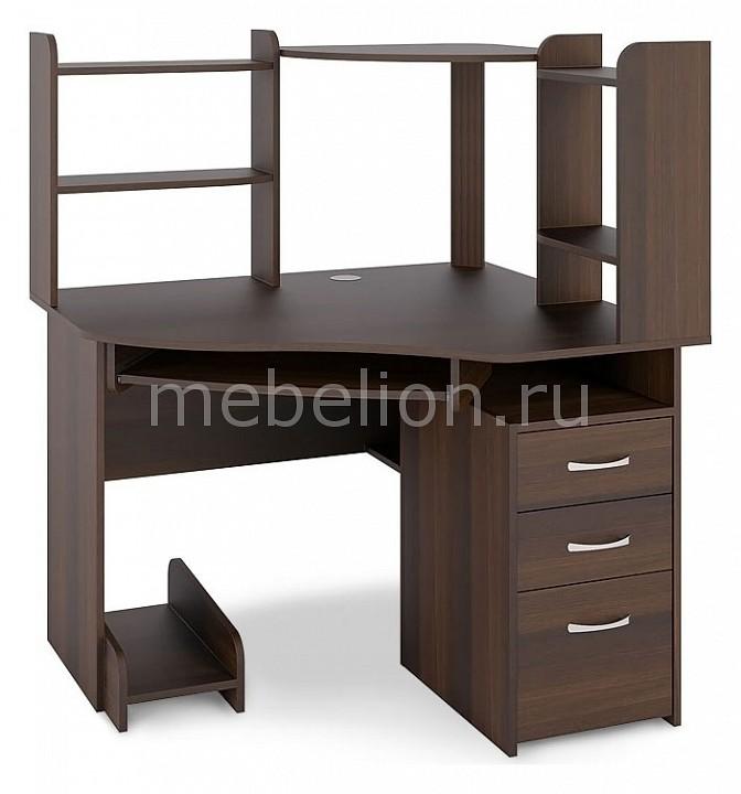 Стол компьютерный Компасс-мебель С 215+СЕ 215 нэка подставка для кормления животных нэка дерево 2х210мл темный орех
